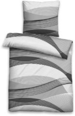 Bettwäsche, Biberna, »Laura«, mit wellenartigen Streifen