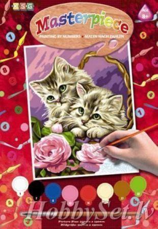 Afbeelding van K.S.G Junior Paintings Schilderen Op Nummer Jonge Katjes