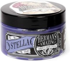 Hermans Amazing Haircolor Semi permanente haarverf Stella Steel Blue Bruin