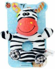 Sozzy Baby rammelaar| Zebra rammelaar collectie | Zebra knuffel | Baby gift