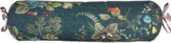 Blauwe Pip Studio Fall In Leaf Roll Sierkussen Dark Blue 1x 22 x 70 cm