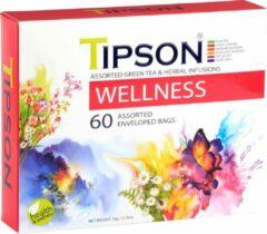 Tipson Wellness Assorted 60 zakjes