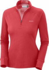 Columbia Baselayer Heavyweight 1/2 Zip - dames - thermoshirt - rood