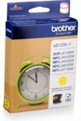 Brother LC-125XLY inktcartridge Origineel Geel 1 stuk(s)