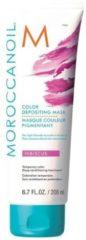Moroccanoil Color Depositing Mask Hibiscus - verzorgend, uitwasbaar kleurmasker voor (licht-)blond tot medium blond haar