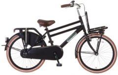 """Popal 22"""" ZOLL DAILY DUTCH SEASON ZD2215 HOLLAND FAHRRAD Junior Bike Kinder schwarz"""
