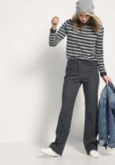 Hessnatur Damen Jersey-Hose aus Bio-Baumwolle und Bio-Schurwolle – grau – Größe 46