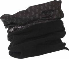 Zwarte GripGrab Multifunctional Thermal Fleece Neck Warmer Bandana's Unisex - One Size