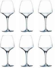 Transparante Chef&Sommelier Open Up Wijnglas Pro Tasting - Rond - 32 cl - Helder - Set-6