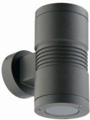 Franssen Verlichting Spotpro wandlamp up/down light gu-10 - grijs