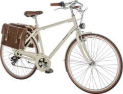 28 Zoll Herren City Fahrrad 7 Gang Alpina... creme, 55cm