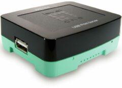 Zwarte NETWERK PRINT SERVER - USB - Level One