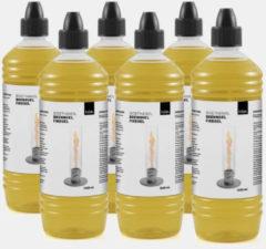Transparante Höfats Spin Tafelvuur Bio-ethanol Brandstoffles - Kunststof - 1 L - Set van 6 Stuks
