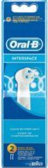 Procter&Gamble Braun Interspace 2er - Oral-B Aufsteckbürste Mundpflege-Zubehör Interspace 2er