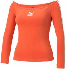 Oranje T-Shirt Lange Mouw Puma 530376