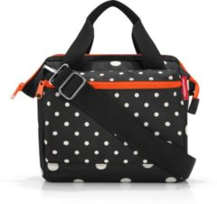 Reisenthel Allrounder Cross Schoudertas - Cross Body Bag - Polyester - 4 L - Mixed Dots Zwart;Wit;oranje