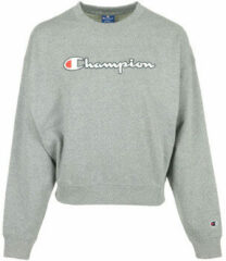 Champion Crewneck Sweater grijs