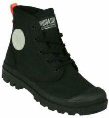 Zwarte Palladium Pampa Hi Twill Sneaker Dames