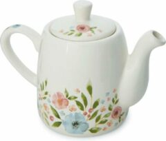 Witte Cooksmart Theepot Country Floral