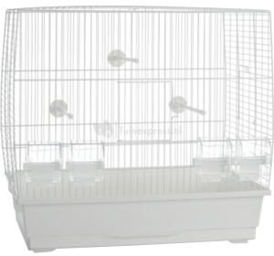 Afbeelding van BEEZTEES/PET PRODUCTS VOGELKOOI NATALIA 3 WIT 55,5X34X52