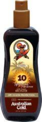 Australian Gold SPF 10 Spray Gel Zonnebrand met Bronzer - 237 ML