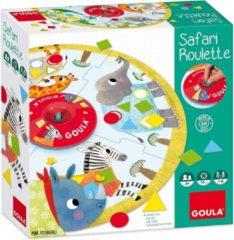 Goula kinderspel Safari Roulette 43-delig