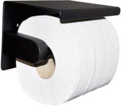Douche Concurrent Toiletrolhouder Wiesbaden Brush Mat Zwart