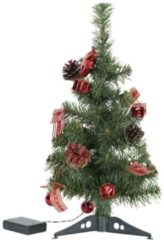 Rode LED-Christmas Tree Decorage, 45 cm - Quality4All