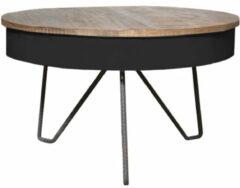 Zwarte Budget Design Store LABEL51 - Salontafel Saria - Wit