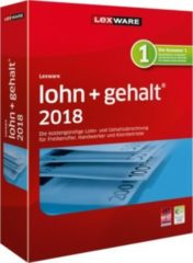Lexware lohn+gehalt 2018 - Box-Pack (1 Jahr) + 1 Jahr kostenlose Upgrades 09002-0084