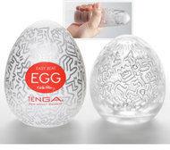 Witte Tenga Keith Haring Egg Party - Masturbator - 6 stuks