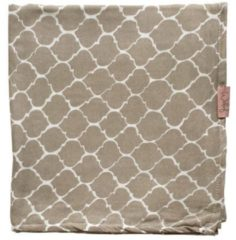 Beige Witlof for kids swaddle/hydrofiele doek Once upon a dream 120x120 cm zand