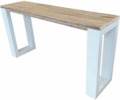 Bruine Wood4you - Wandtafel enkel 150Lx78HX38D cm