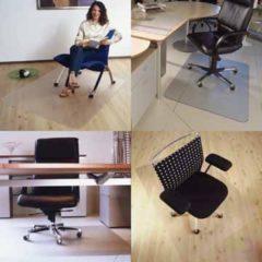 Transparante Floortex vloermat Cleartex Advantagemat voor harde oppervlakken rechthoekig formaat 120 x 150 cm