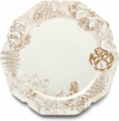 Witte Essenza Masterpiece onderbord 34 cm / Off-white