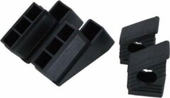 Zwarte Little Jumbo compact set voeten voorzijde & achterzijde   Waku