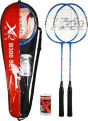 XQ Max B300 - Badminton Starterset - 2 spelers - Zwart
