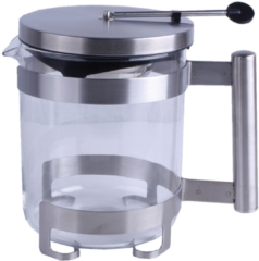 Transparante Imperial Kitchen Theepot Glas- 1.0 l