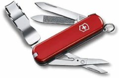 Rode Victorinox Nail Clip 580 0.6463 Zwitsers zakmes Aantal functies: 8 Rood