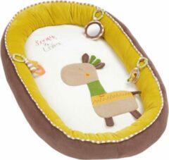 Gele Fehn - Knus Babynest Lotta de Giraf - Speelkleed
