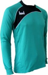 KWD Keepershirt Primero - Zeegroen/zwart - Maat 152/176 - Junior