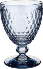 Blauwe Villeroy & Boch Boston coloured Rode wijnglas Blue - 13 cm - 0,31 l