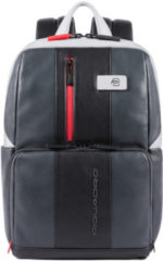 "Piquadro Urban Computer Backpack with iPad 10.5""/iPad 9.7"" compartment grey / black"