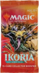 Trading Card Game TCG Magic The Gathering Ikoria Lair Of Behemoths Collector Booster Pack MAGIC THE GATHERING