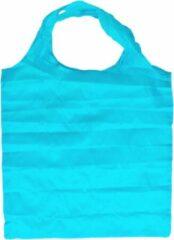 Benson Compacte opvouwbare - opvouwbaar boodschappentas Blauw