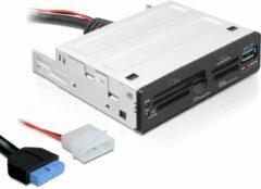 DeLOCK 91725 geheugenkaartlezer Intern Zwart USB 3.2 Gen 1 (3.1 Gen 1)
