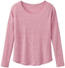 Enna Shirt met lange mouwen, rozenhout 36/38