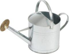 Groene Ubbink Gieter 9 liter verzinkt staal met broeskop/sproeikop - Tuinonderhoud - Tuin bewateren/bewatering