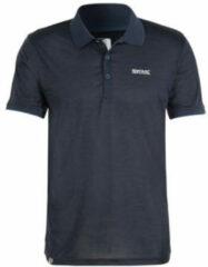 Regatta Poloshirt Remex Ii Heren Polyester Marineblauw Maat S