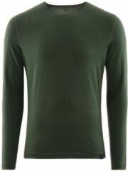 Groene Föhn Merino ondershirt (200, lange mouwen) - Onderkleding